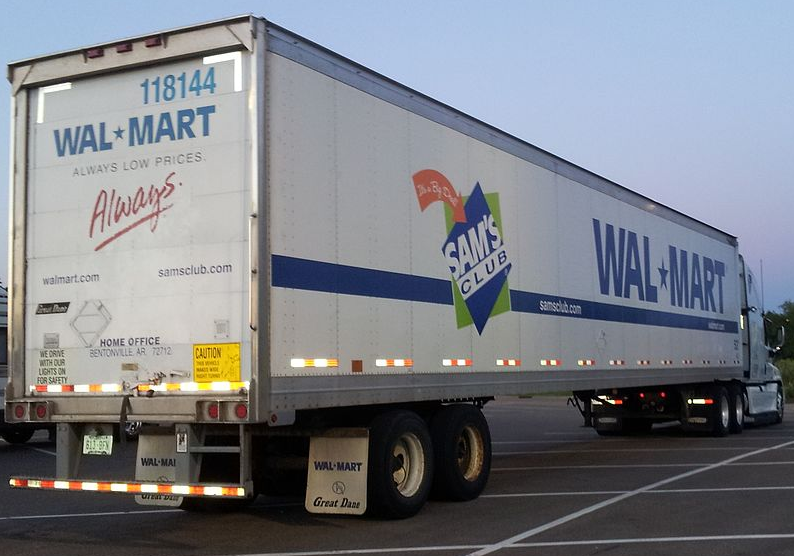 Walmart Trailer Truck - Vadnais Heights, MN
